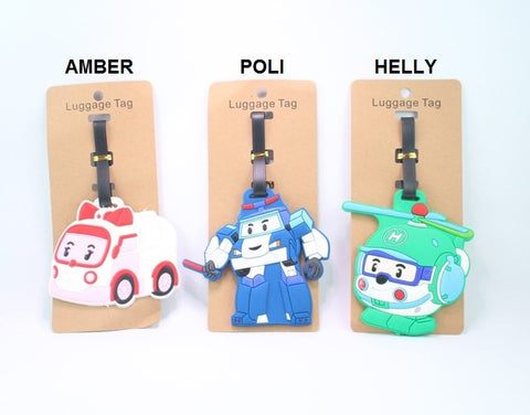ROBOCAR LUGGAGE TAG (Inspired By)