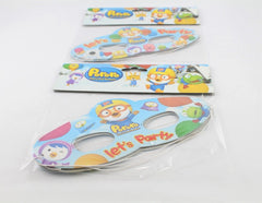 PORORO PARTY EYE MASKS (4PCS/PACK)