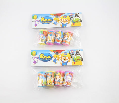 PORORO PARTY PRISM SCOPE (4PCS/PACK)