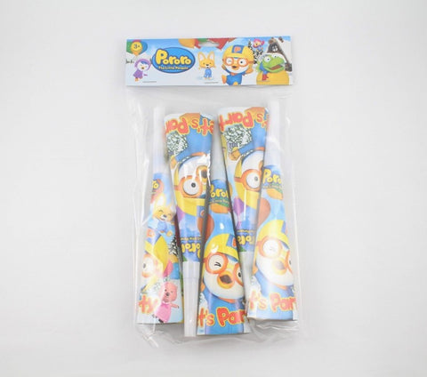 PORORO PARTY HORN (5PCS/PACK) [ORIGINAL LICENSE]