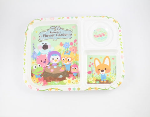 PORORO DIVIDED PLATE [ORIGINAL LICENSE]