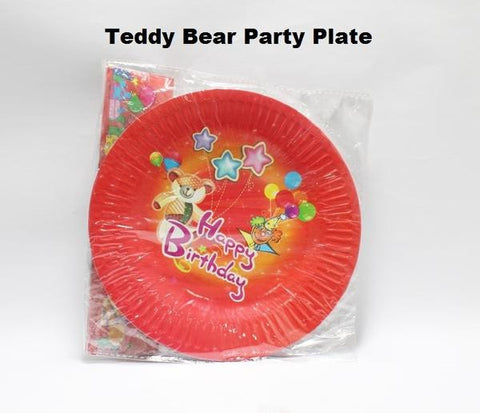 PARTY HAPPY BIRTHDAY PAPER PLATES SET
