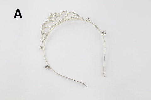 PRINCESS TIARA CROWN HAIRBAND - DESIGN A