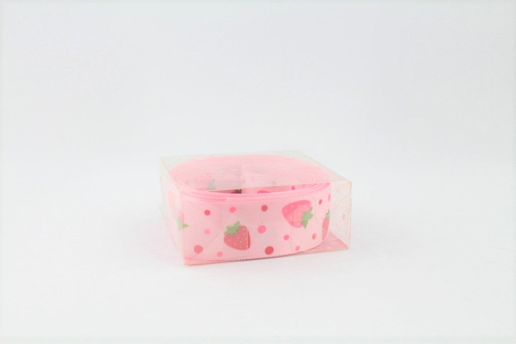 RIBBON-PINK STRAWBERRY
