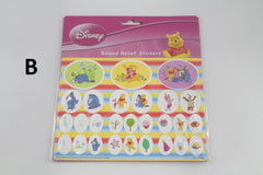 WINNIE THE POOH RAISED RELIEF STICKERS (MEDIUM)