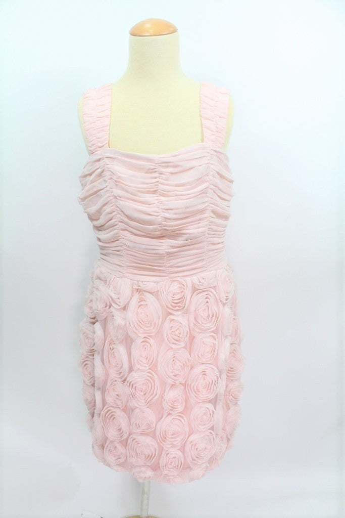 DRESS-PINK FLOWER LACE (SIZE L 170)