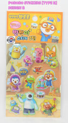 PORORO STICKERS (TYPE B)