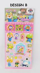 PORORO STICKERS -3D POP-UP (1 PC) [MADE IN KOREA]