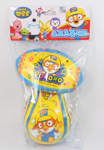 PORORO 2PCS BALL - TYPE A [RUBY AND BALL]
