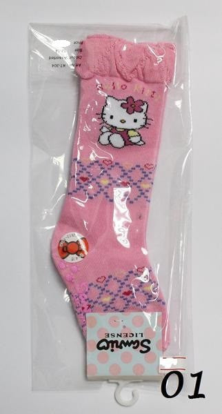 HELLO KITTY ANTI-SLIP KIDS SOCKS KT- 304 (12-14CM) [AGE 2-4] [MADE IN TAIWAN]