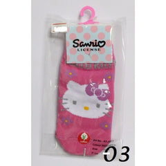 HELLO KITTY ANTI-SLIP KIDS SOCKS KT- A217 (10-14CM) [AGE 1-4] [MADE IN TAIWAN]