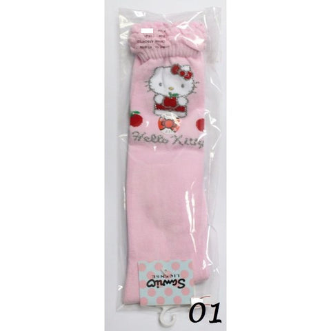 HELLO KITTY COTTON LONG SOCKS- KT-B709 (19-21cm) [AGE 9-12] [MADE IN TAIWAN]