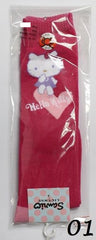 HELLO KITTY COTTON LONG SOCKS- KT-B713 (19-21cm) [AGE 9-12] [MADE IN TAIWAN]