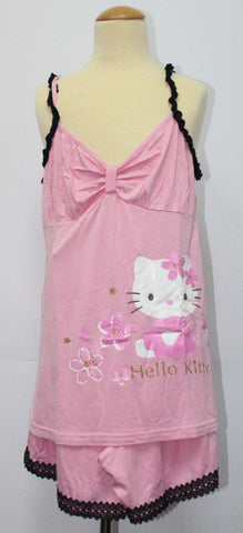 HELLO KITTY ADULT SLEEVELESS SLEEPWEAR SET KT 9982