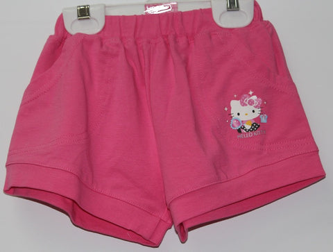 HELLO KITTY KIDS SHORTS WITH POCKET-PINK KT 00121
