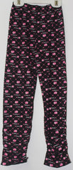 HELLO KITTY KIDS COTTON LONG PANTS- BLACK KT 88199-5