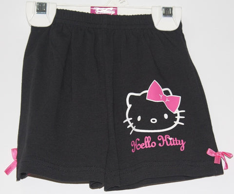HELLO KITTY KIDS SHORTS- BLACK KT 88201-5
