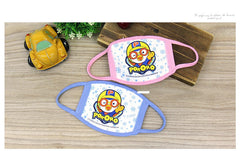 PORORO KIDS MASK- HELLO [100% COTTON MADE IN KOREA]