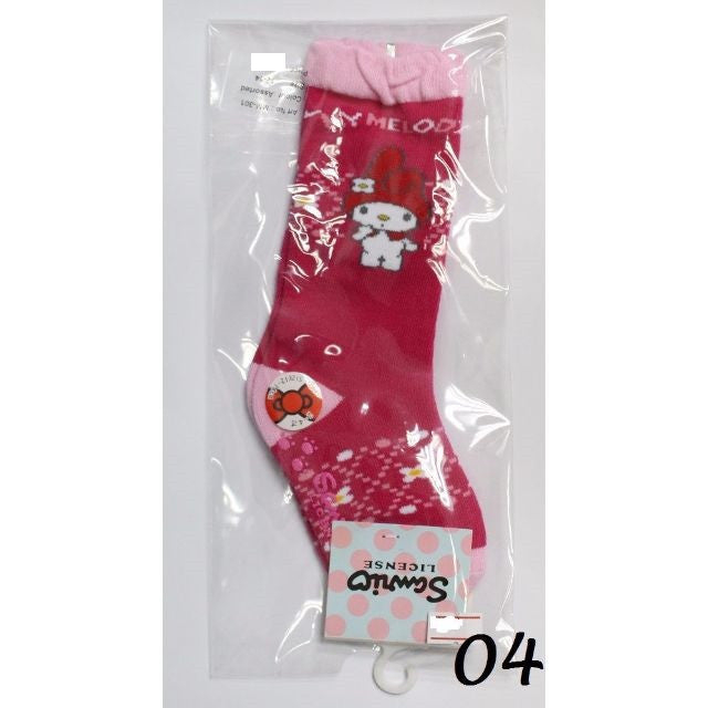 MELODY ANTI-SLIP KIDS SOCKS - MM-301 (12-14CM) [AGE 2-4] [MADE IN TAIWAN]