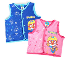 PORORO GUITAR VEST / JACKET - PINK [MADE IN KOREA]