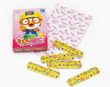 PORORO & FRIENDS PLASTERS- STANDARD (1 PACK) [FROM KOREA]