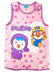PORORO KIDS SLEEPVEST WARMER - PINK [ORIGINAL LICENSE]