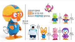 PORORO & FRIENDS TODDLING SET (LOOPY, PORORO, CRONG & POBY)