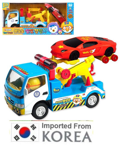 PORORO TOW TRUCK & SPORTS CAR SET