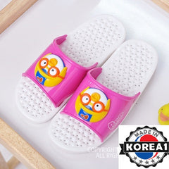 PORORO BATHROOM SLIPPERS- PINK [MADE IN KOREA]