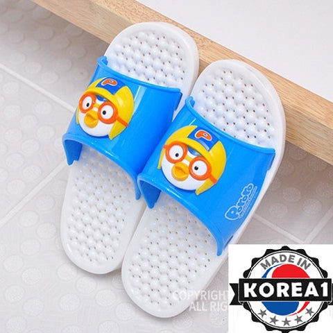 PORORO BATHROOM SLIPPERS- BLUE [MADE IN KOREA]