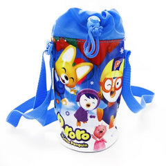 PORORO KIDS WATER BOTTLE HOLDER WITH STRAP - SMALL