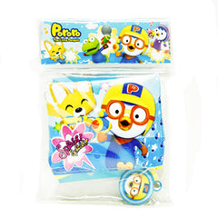 PORORO KIDS COIN PURSE WITH HOOK [ORIGINAL LICENSE]