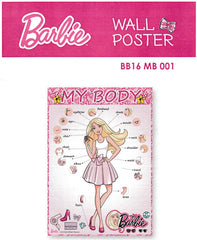 BARBIE MY BODY EDUCATIONAL POSTER -BB16 MB 001