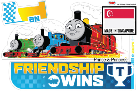 THOMAS & FRIENDS FRIENDSHIP WALL STICKER -TF16ST T001