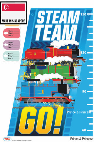 THOMAS & FRIENDS WALL HEIGHT STICKER- TF16HS 001