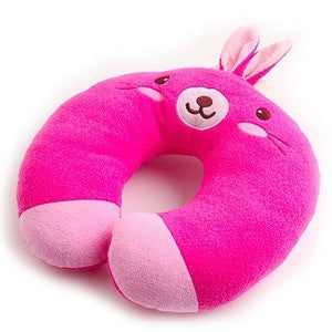 NECK PILLOW- PINK RABBIT