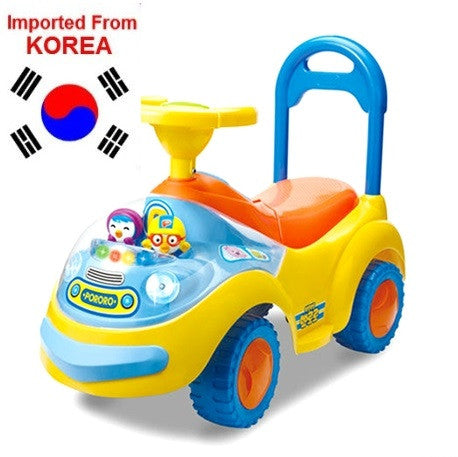 PORORO KIDS RIDE ON CAR W MELODY & LIGHTS [DESIGN BY KOREA]