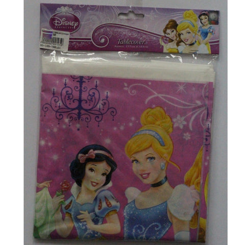 DISNEY PRINCESS PARTY PLASTIC TABLE COVER
