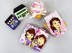 PRINCESS SOFIA PANTIES / UNDERWEAR FOR GIRLS [FROM KOREA] [3 PC SET]