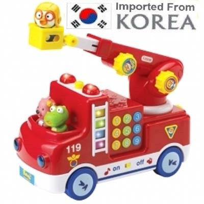 PORORO FIRE ENGINE W MELODY & LIGHTS