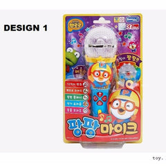 PORORO MELODY MIKE / MICROPHONE TOY - RED / BLUE / YELLOW [FROM KOREA]