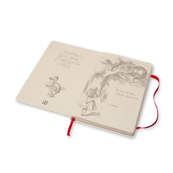 ALICE IN WONDERLAND Limited Edition Notebook (Ruled)