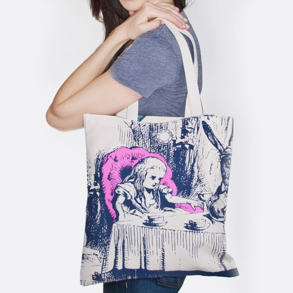 Alice in Wonderland Totebag