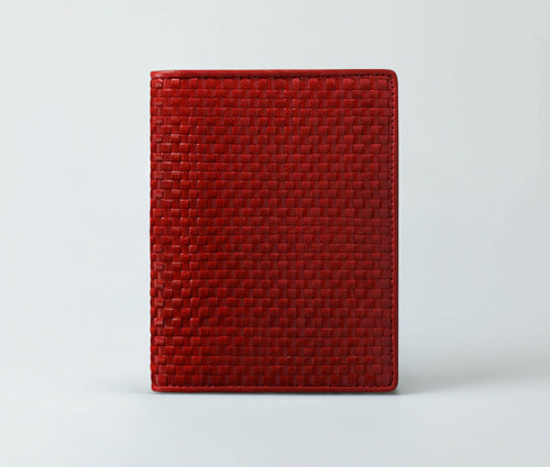 Jan Travel Wallet (Vermillion)