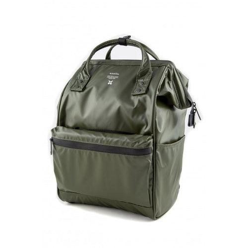 Anello Limited Edition Water Repellant Backpack (Olive)