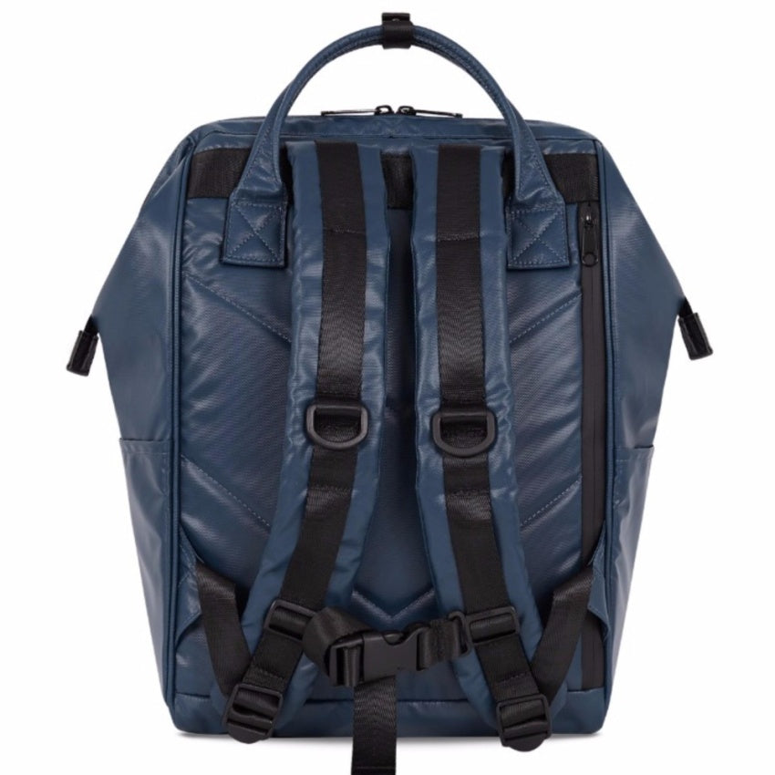 Anello Limited Edition Water Repellant Backpack (Navy)