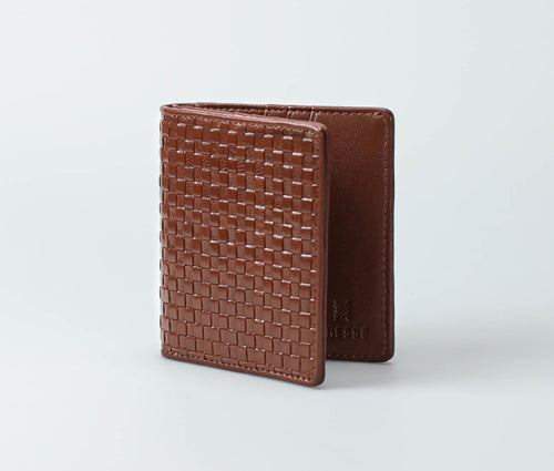 Trenza Wallet (Saddle)