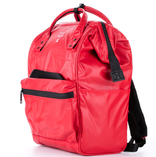 Anello Limited Edition Water Repellant Backpack (Red)