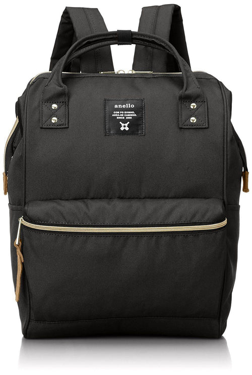 Anello Polyester Backpack Large (Black)