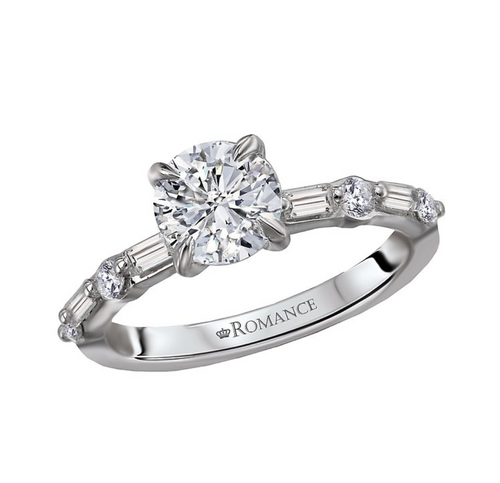 Romance Classic Semi-Mount Diamond Ring